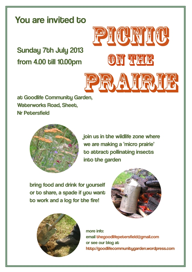 picnic on the prairie poster