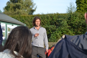 Mark Rose, SDNPA, speaking